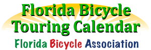 Florida Bicycle Touring Calendar